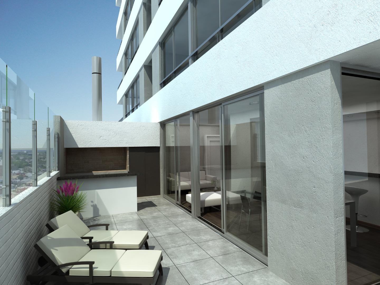 Departamentos de 2 dormitorios con terraza