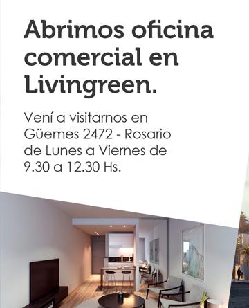 Abrimos oficina comercial en Livingreen